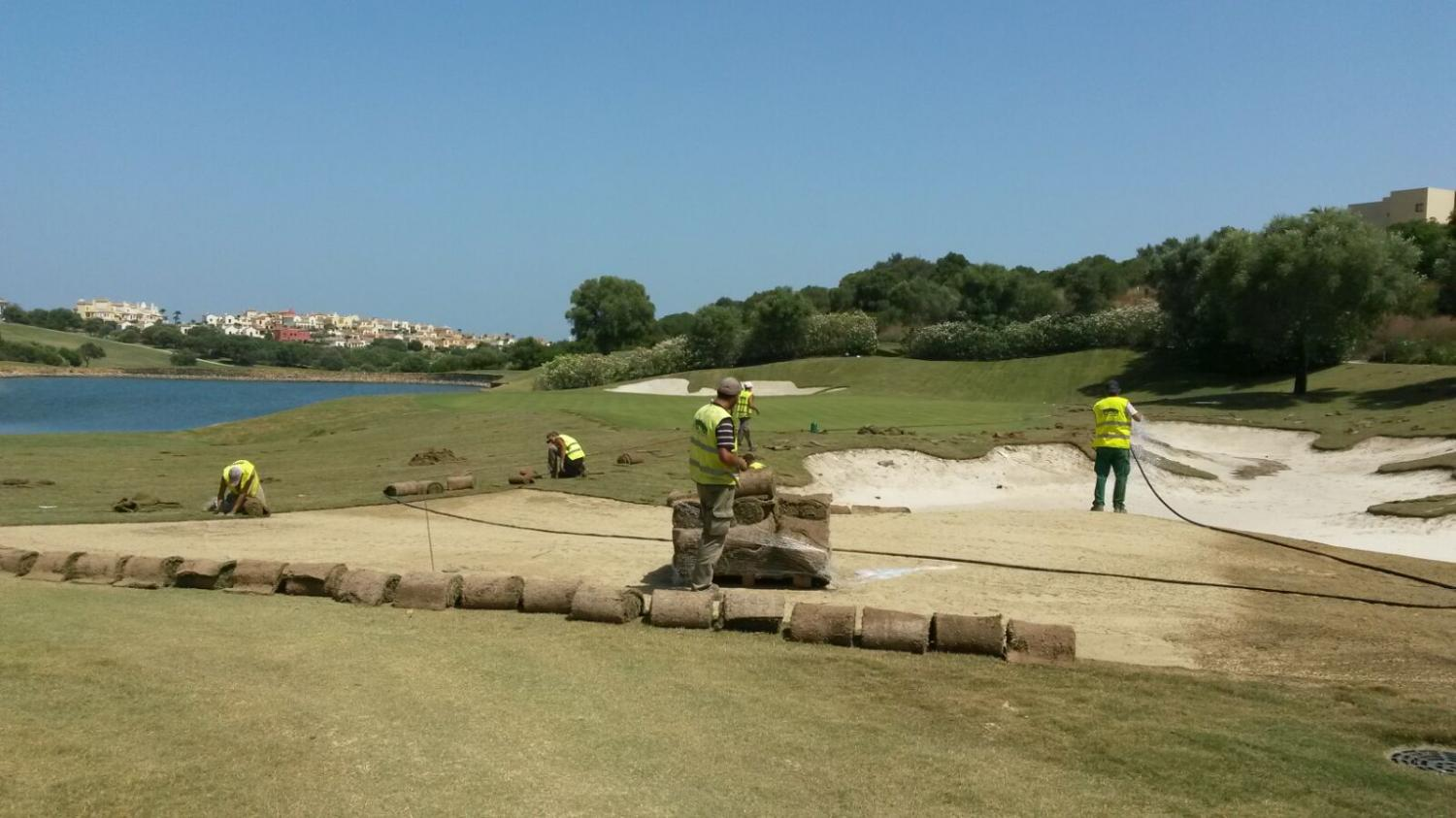 The renovation of the Reserva de Sotogrande fringes is completed
