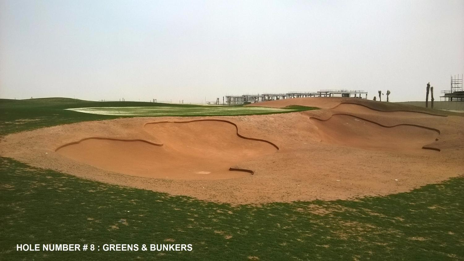 Construcción Trump International Golf Club Dubai
